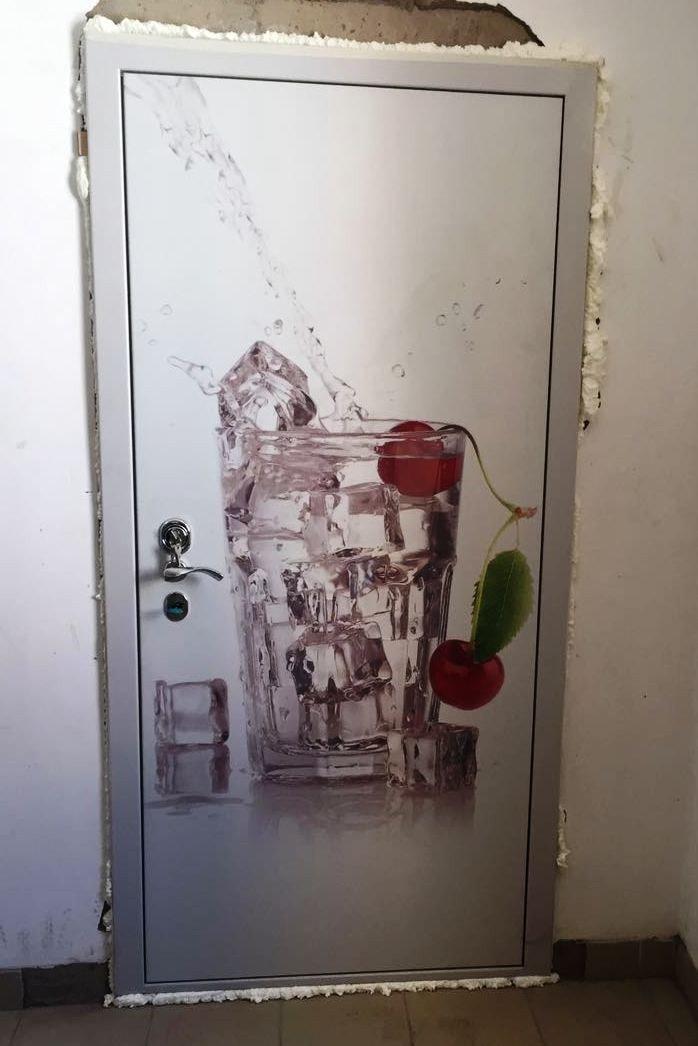 Дверь с фотопечатью