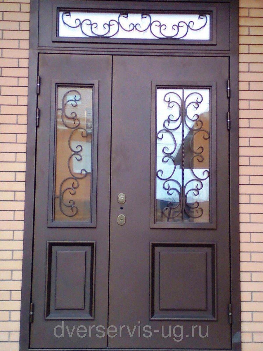 стальные двери двухстворчатая не дорог
