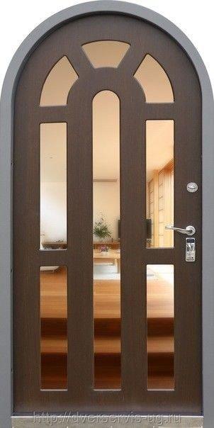 Арочные стальные двери