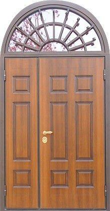 Арочные двухстворчатые двери