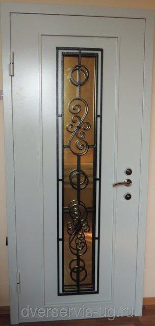 Дверь с ковкой Виола