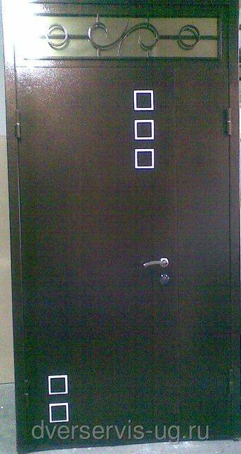 Дверь с ковкой Франц