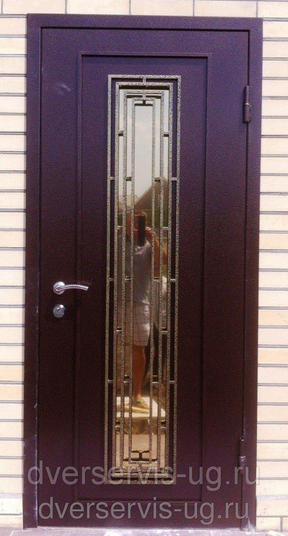 Дверь с ковкой Стинг