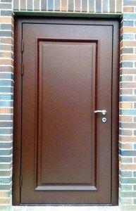 Входные двери по своим размерам