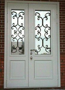 Дверь белая классика