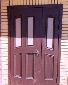 Двустворчатая дверь  Классика