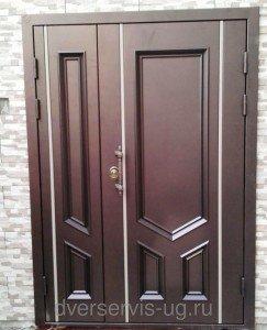 Широкие нестандартные входные двери