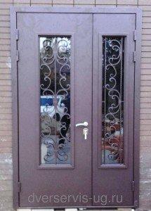 Широкие входные двери