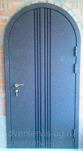 Двери арочные металлические