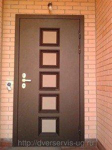 Взломостойкие стальные входные двери