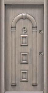 Античная входная дверь 250
