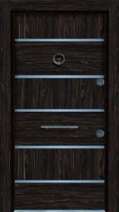 Входная дверь с молдингами 033