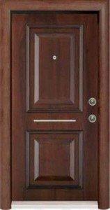 Шпонированая стальная дверь 006