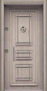 Античная входная дверь 255