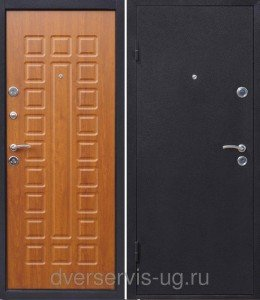 Дверь входная Йошкар Золотистый дуб