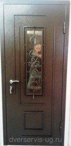 Дверь с ковкой Виола 1