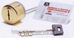 Сувальдный цилиндр Cisa