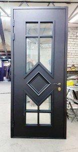 Дверь со стеклом Дабл